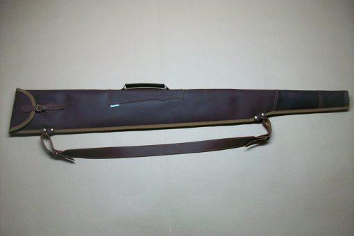 Funda escopeta repetidora montada en piel