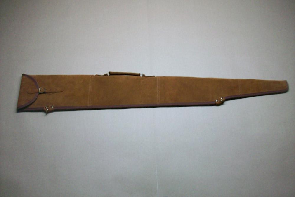 Funda escopeta repetidora montada en serraje