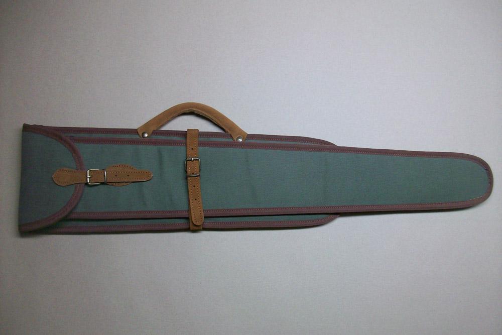 Funda escopeta superpuesta o plana desmontada en kaki