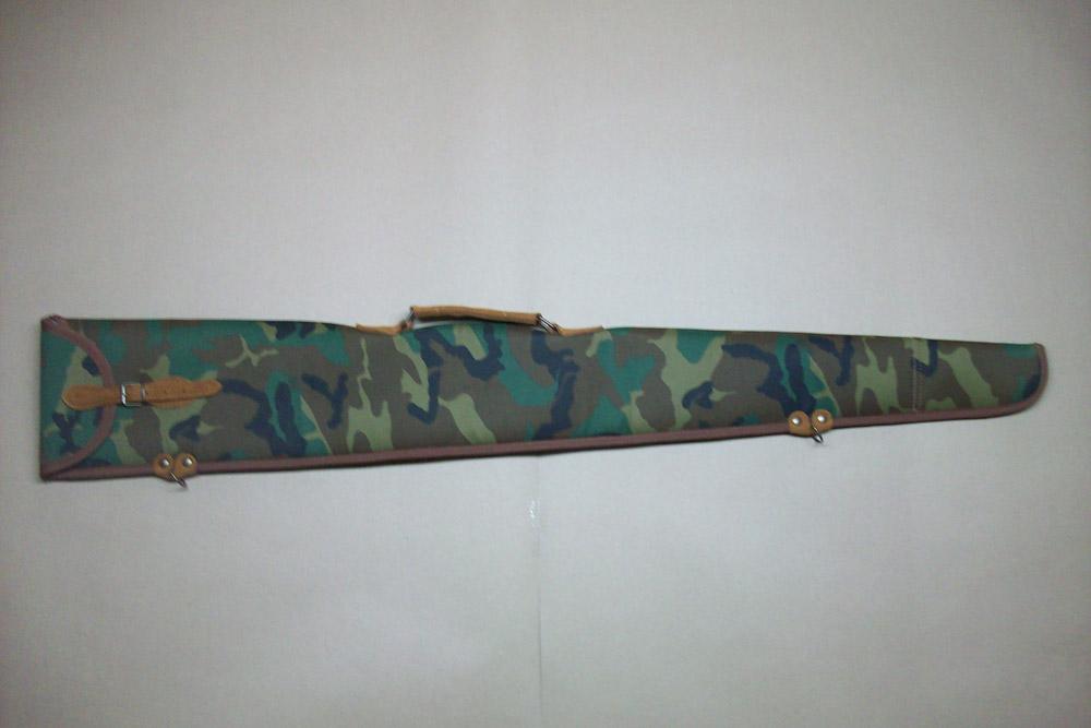 Funda para escopeta superpuesta o plana montada en camuflaje