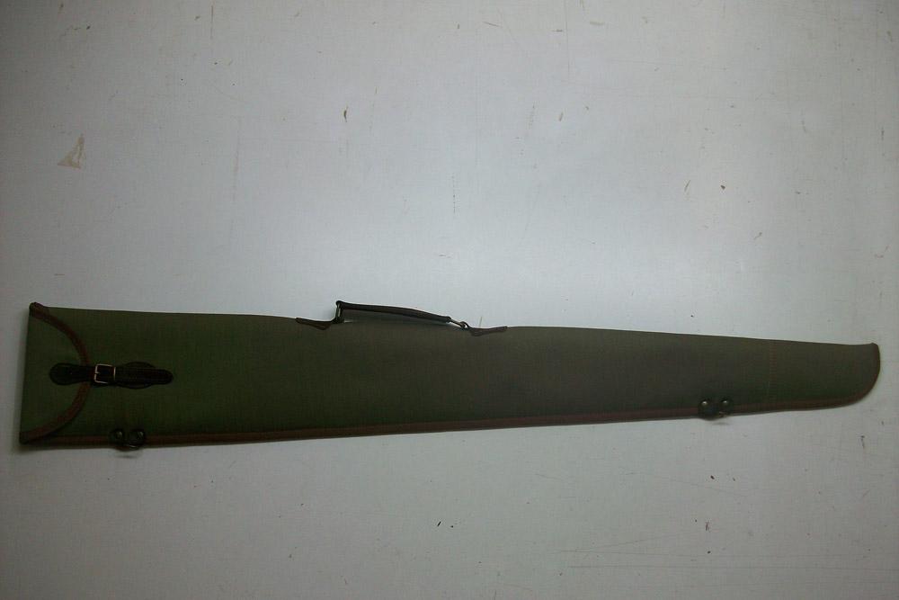 Funda para escopeta superpuesta o plana montada en kaki
