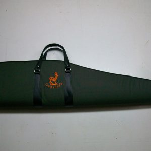 Funda para rifle con visor color verde