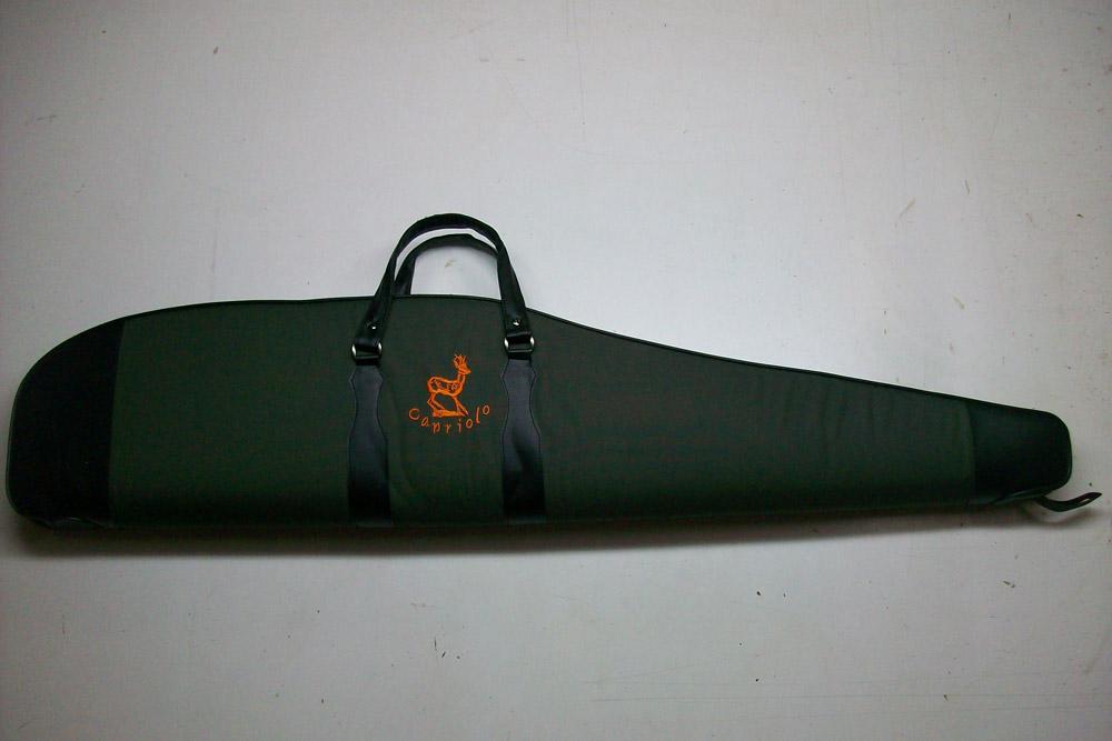 Funda para rifle con visor color verde