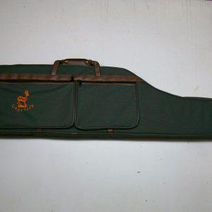 Funda para rifle con visor dos bolsillos