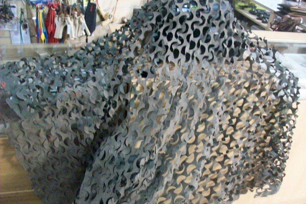 red de camuflaje 3D